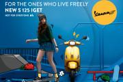 """เวสป้าให้คุณสนุกกับชีวิตอิสระ """"Live Freely"""" ไปกับ """"เวสป้า เอส 125 ไอ-เก็ต (Vespa S 125 I-Get)"""" โฉมใหม่"""
