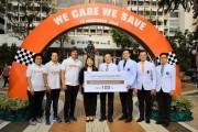 ยามาฮ่ามอบหมวกนิรภัย 100 ใบ ให้โรงพยาบาลศิริราช ในโครงการ We Care We Save