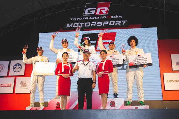 Superclub Racing ระเบิดฟอร์มคว้า 3 ถ้วย สนามเชียงใหม่
