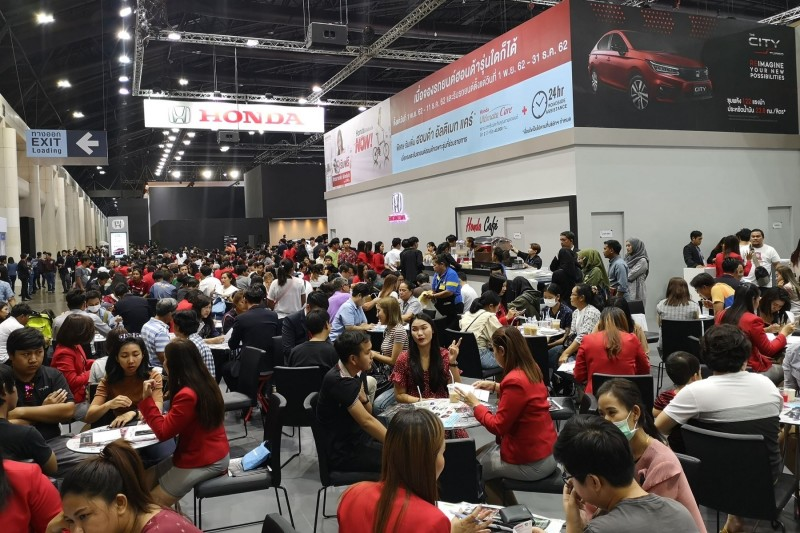 Honda Booth at Motor Expo 2019_2