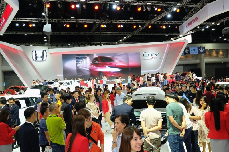 Honda Booth at Motor Expo 2019_3