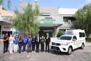 ยามาฮ่าให้ความสําคัญกับคุณภาพชีวิตของพนักงานฯ จัดซื้อรถพยาบาล Ambulance Car  ณ Yamaha Health Care Center