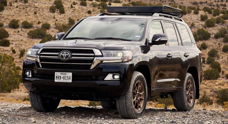 2021 Toyota Land Cruiser โฉมใหม่อาจจะมาพร้อมขุมพลังไฮบริด