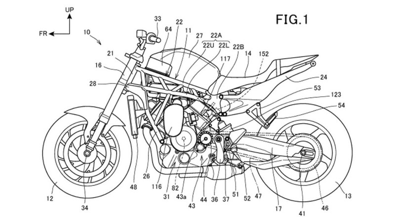 Honda Supercharged V Twin Patent