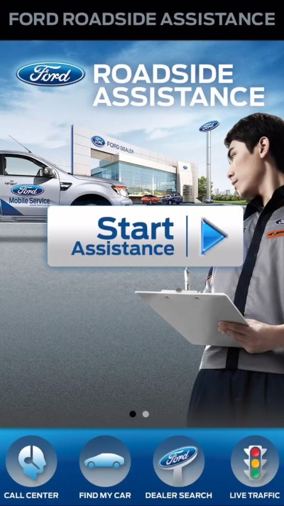 Ford_Five Useful Apps for Drivers_Ford Roadside Assistance