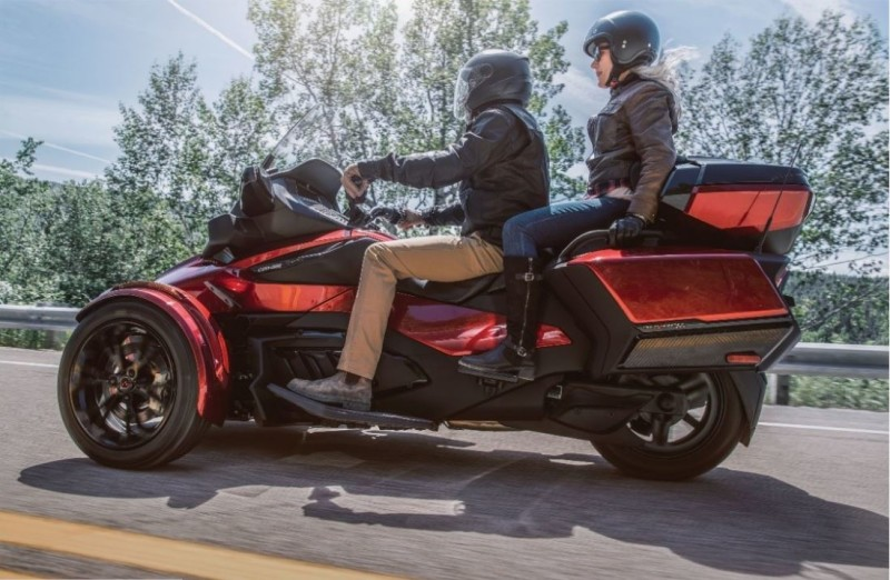 The 2020 Can Am Spyder RT Limited