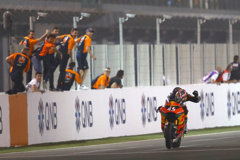Tetsuta Nagashima, Qatar Moto2 race, 8 March 2020