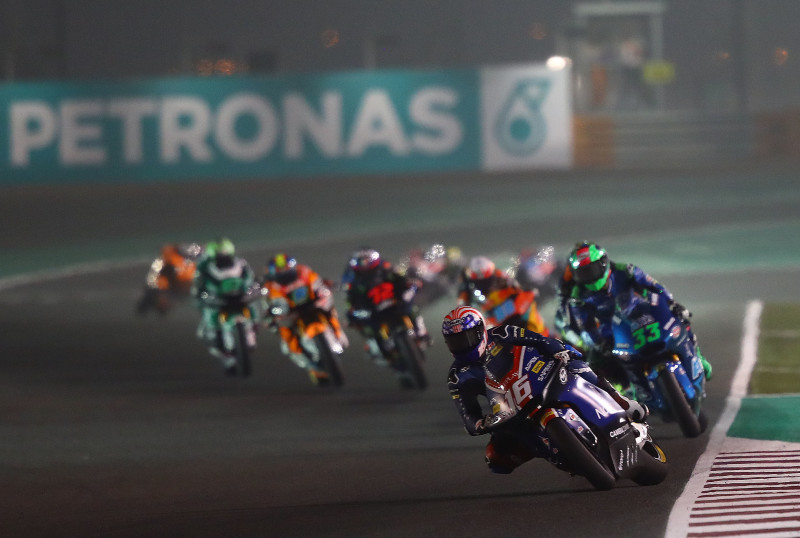 Joe Roberts, Qatar Moto2 race, 8 March 2020