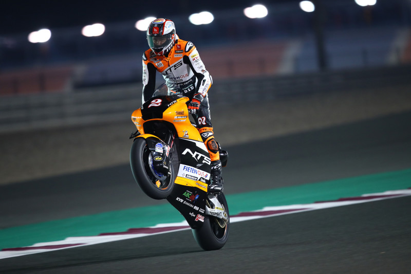 Jesko Raffin, Qatar Moto2. 6 March 2020