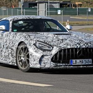 2021 Mercedes Amg Gt Black Series Spy Photo 01