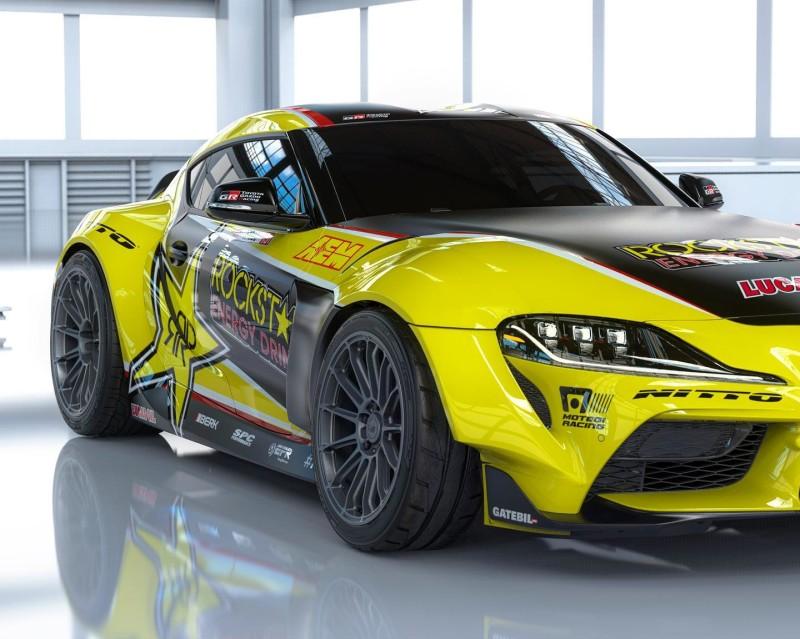 Toyota Supra Drift 4