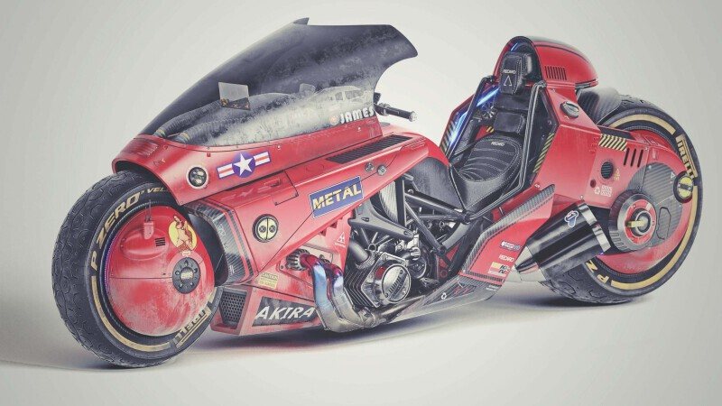 Akira Motorcycle Concept James Qiu 05 Scaled