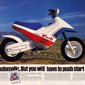 Honda EZ90 Cub Commercial