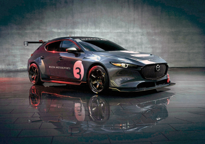 มาสด้าเตรียมเสริมเขี้ยวเล็บให้ Mazda3 ด้วยขุมพลังเทอร์โบ