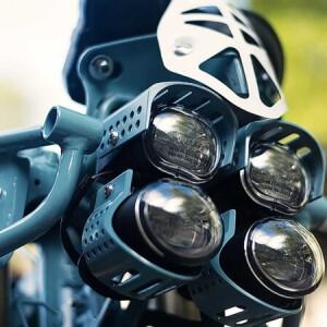 MJR Roach Custom Royal Enfield Himalayan Headlights