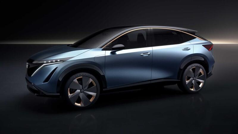 Nissan Ariya ครอสโอเวอร์ขับเคลื่อนไฟฟ้า 100% เปิดตัวเร็วที่สุดกลางเดือนนี้