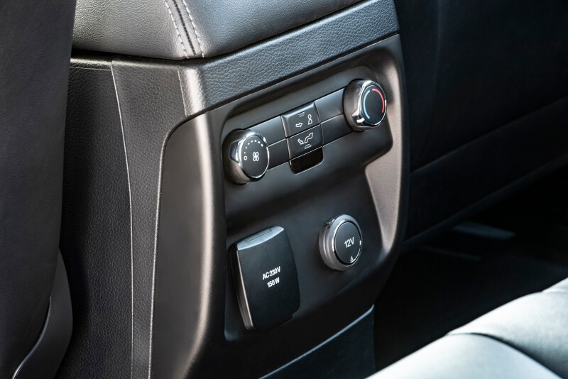 3. Ford_Survey Shows Travelers Prefer Their Post-COVID Trip by Car_Ford Everest Interior