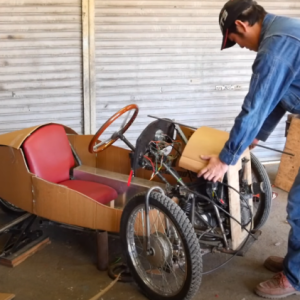 Honda Super Cub Trike Body Panels