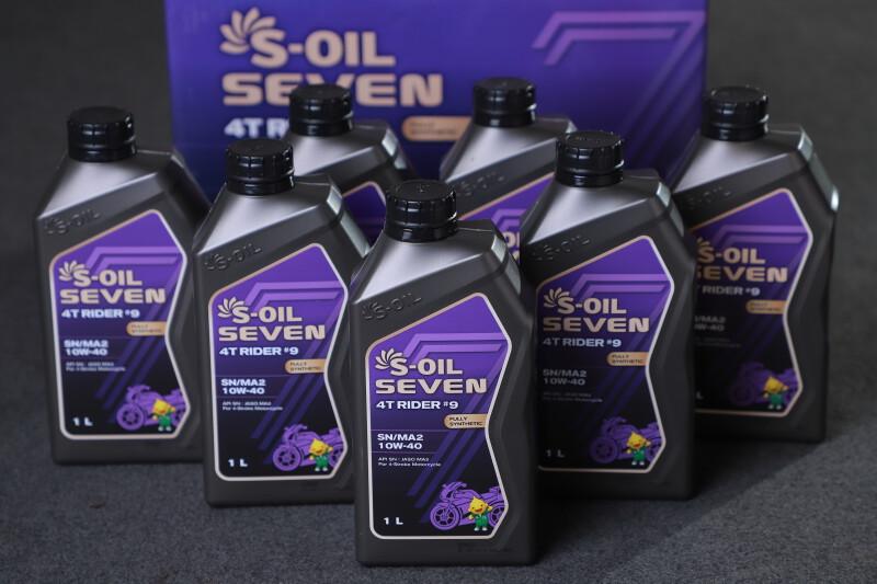 S-OIL 7 4T RIDER _9 MA2 10W40_original