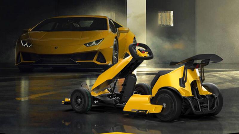 Xiaomi เปิดตัว Ninebot Gokart Pro รุ่นพิเศษ Lamborghini Edition