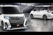 Toyota เตรียมส่ง Roomy เสริมหล่อด้วยชุดแต่ง Gazoo Racing