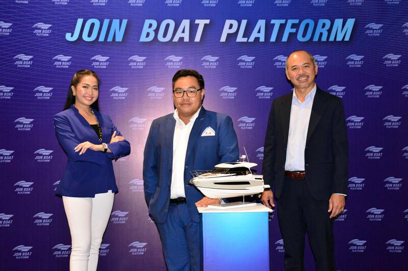 """3 พันธมิตร ผนึกกำลัง เปิด """"Join Boat Platform"""" ธุรกิจเรือครบวงจร"""