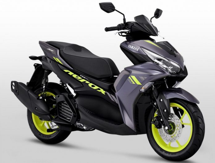 2021 Yamaha Aerox 155 Connected Launch Indonesia Price Specs 1 696×527
