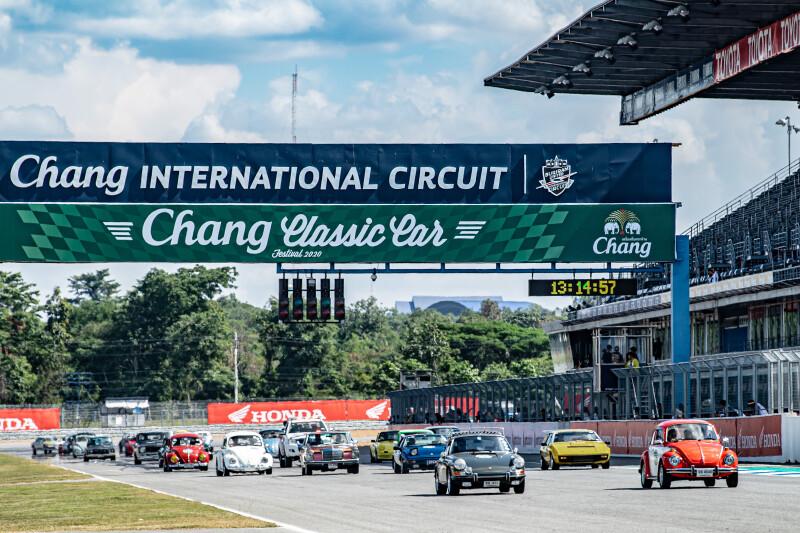 """อลังการ """"กองทัพรถคลาสสิค"""" คืนชีพ ในงาน"""" Chang Classic Car Festival 2020"""