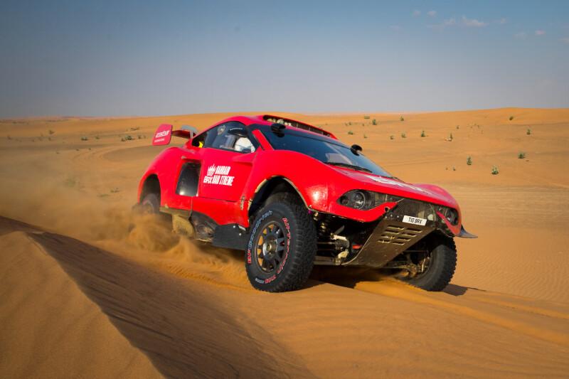 BRX เปิดตัวรถแข่งทางฝุ่นฤดูกาล 2021