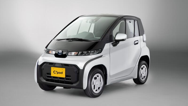 Toyota C+pod รถ EV คันจิ๋วตอบโจทย์คนเมือง