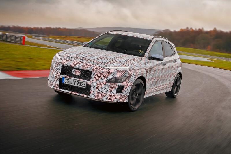 Hyundai Kona-N อาจมาพร้อมขุมพลัง 2.0 ลิตร เทอร์โบ เกียร์ DCT 8 สปีด