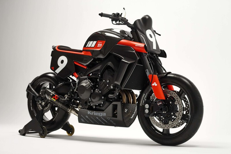 "Yamaha SXR 900 คัสตอมตัวโหดในรหัส ""XR9 Carbona"" จาก Bottpower"