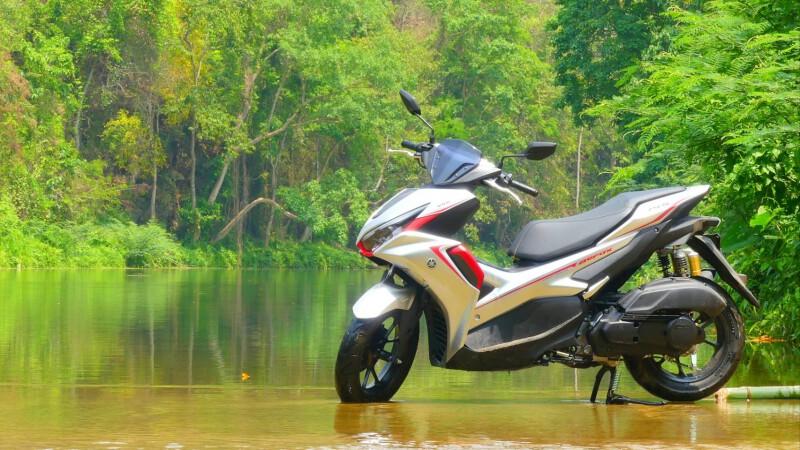 Yamaha Aerox 155 พาขึ้นเขา ลงห้วยก็ไม่หวั่น