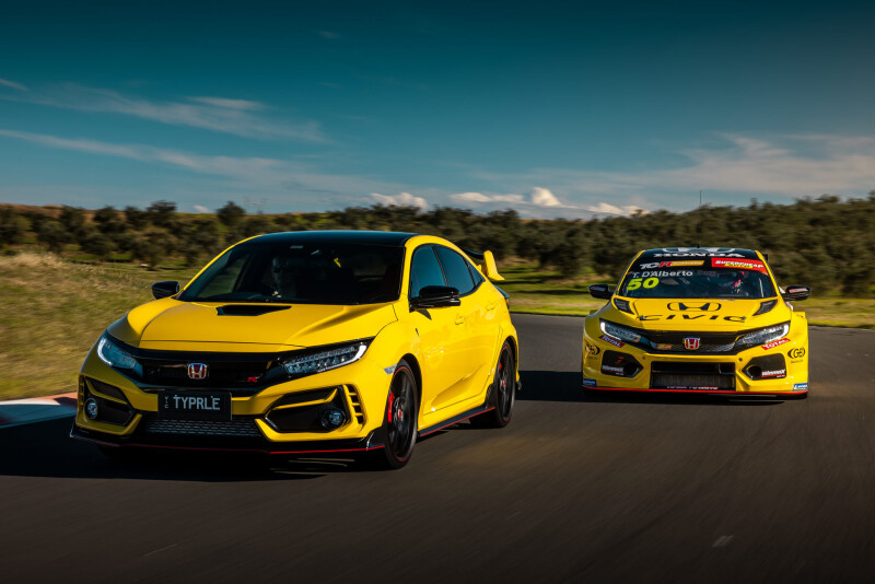Honda ออสเตรเลีย เตรียมเปิดตัว 2021 Civic Type-R Limited Edition