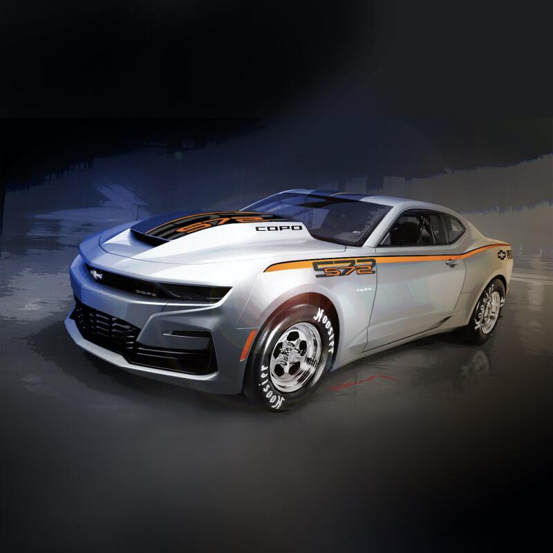 Chevrolet เอาใจคอ Drag ผลิต Camaro COPO ไม่จำกัด