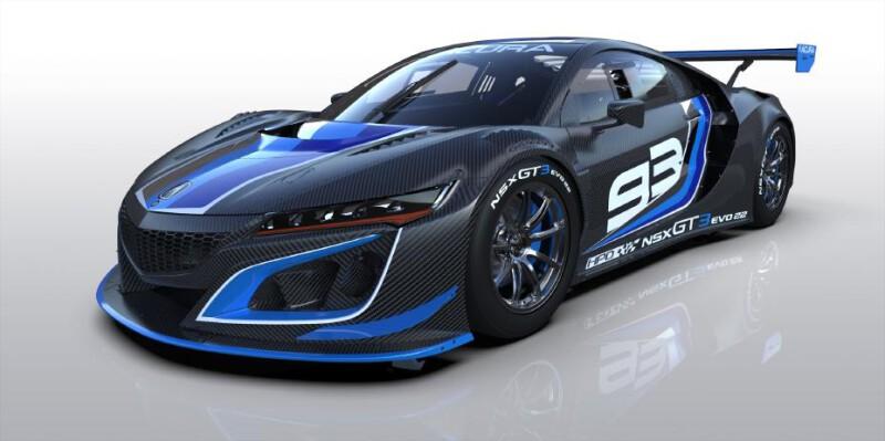 Acura NSX ได้ซิ่งต่อถึงปี 2024 ด้วย NSX GT3 Evo22